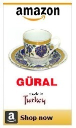 authentic turkish coffee cups.
