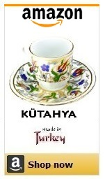 turkish coffee cup with saucer.