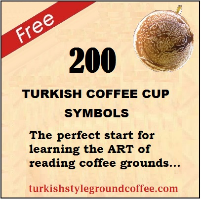 Turkish coffee reading basic rules | Cup preparation, symbols