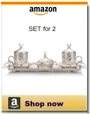 Turkish coffee sets - Set for 2