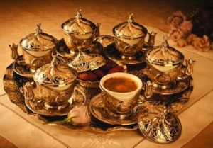 Turkish Coffee Set for Six