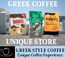 Greek coffee store