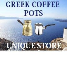 Greek coffee pots briki