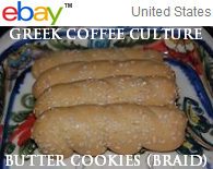 Traditional Greek cookies