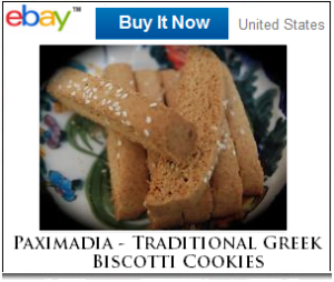 Paximadia Greek cookies