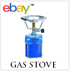 Small camping gas stove