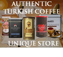 Authentic Turkish coffee brands