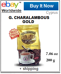 Charalambous Cyprus Greek coffee