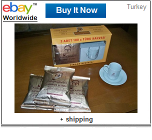 Mehmet Efendi coffee with gift cup