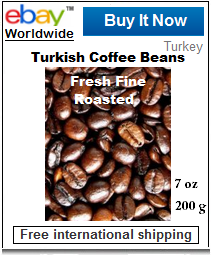 Turkish coffee beans