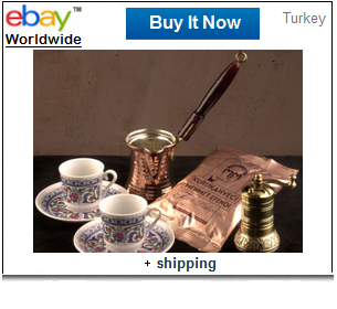 Turkish coffee gift set