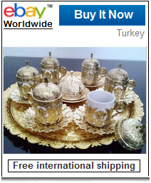 Turkish coffee serving set