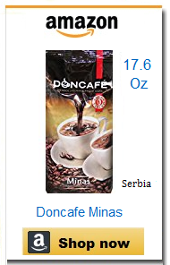 Doncafe Serbian coffee