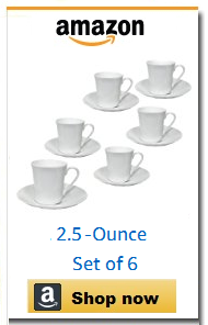 Contemporary espresso set