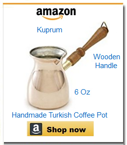 Extra small Turkish coffee pot