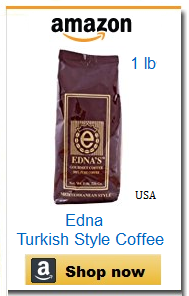 Edna traditional Turkish coffee
