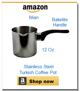 Stainless steel large coffee pot