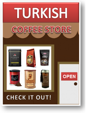 Turkish coffee store