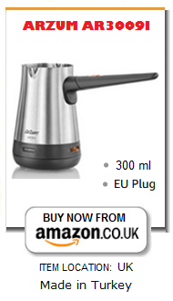 ARZUM electric Turkish coffee maker