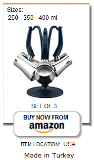 best set for stainless steel Turkish coffee pots