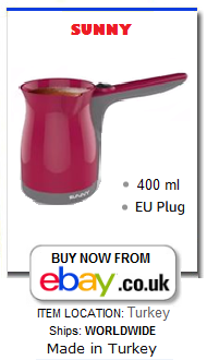 Turkish coffee maker electric
