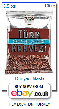 Dunyasi Turkish coffee with mastic small package