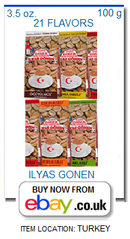 Ilyas Gonen Turkish coffee with many flavors