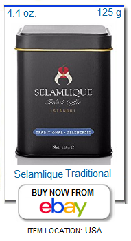 Turkish coffee store for Selamlique coffee