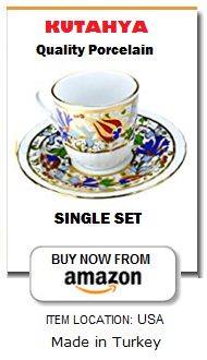 Authentic Turkish coffee cup