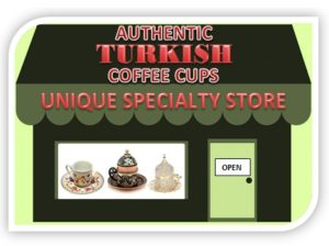 Turkish coffee cups-saucers