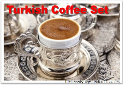 Turkish Coffee Set For Special Guests Turkish Culture Superior Item